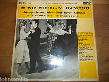 BILL SAVILL AND HIS ORCHESTRA - 22 TOP TUNES FOR DANCING - LP /RECORD - ACL 1053