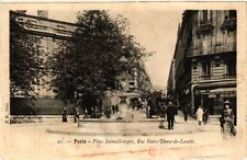 CPA Paris 9e - Place Saint-Georges (274201)