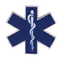 MEDIC EMT EMS CROSS FIRST AID TACTICAL MORALE HOOK PATCH