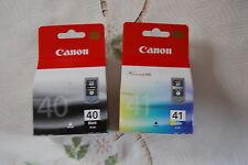 Cartouches d'encre Canon PG40-CL41 neuves