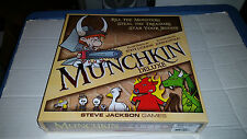 Munchkin Deluxe Card Game NEW SEALED