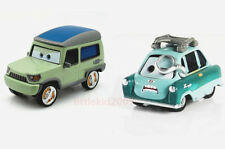 Disney Pixar Cars Miles Axlerod & DR Professor Z Diecast Set Toy Car Xmas