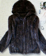 KNIT MINK FUR JACKET FOR WOMEN (WE OFFER LAYAWAY 6,8,10,12, Bi-weekly payments)
