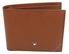 NEW Mont Blanc Meisterstuck Selection Saffiano Leather 6-cc Men's Wallet 109648