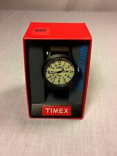 Timex Expedition T49963 JT Men's 'Scout' Leather Strap Watch New w/ Box