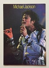 MICHAEL JACKSON - CARTOLINA POSTCARD - WORLD COLLECTION
