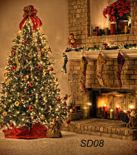 Photography background studio Photo Props backdrop Christmas 5X7FT SD08