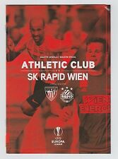 Orig.PRG    Europa League  2016/17   ATHLETIC BILBAO - RAPID WIEN  !!  SELTEN