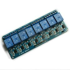 8-Channel 24V Relay Module Coupling Optocoupler High Trigger For MCU Arduino