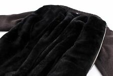 $6800 STEFANO RICCI 100% CASHMERE / CASTORINO FUR LINED Bomber Jacket Sweater L