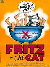 Fritz The Cat Poster 02 A2 Box Canvas Print