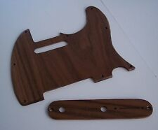 True Custom Shop® WALNUT WOOD FENDER TELE Guitar Pickguard And Control Plate Set