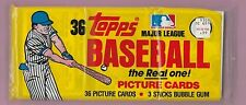 1982 Topps Baseball Grocery Pack(3 small cellos sealed)  Yellow