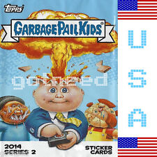 2014 USA Garbage Pail Kids Series 2 COMPLETE Set *NEW RELEASE* 132 Card Set