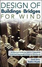 Design of Buildings and Bridges for Wind: A Practical Guide for ASCE-7 Standard