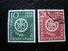 ALLEMAGNE BERLIN - timbre - yvert et tellier n° 123 124 obl (A1) stamp germany