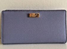 NWT Kate Spade Stacy Newbury Lane Leather Wallet Thistle