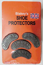 Blakey's Segs Toe & Heel Shoe / Boot Footwear Original Protectors : No. 8
