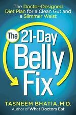 THE 21 DAY BELLY FIX Doctor-Designed Diet Plan NEW book weight loss stomach abs