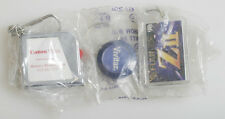 CAMERA BRAND KEYCHAINS SET OF 3 CANON/FUJI/VIVITAR