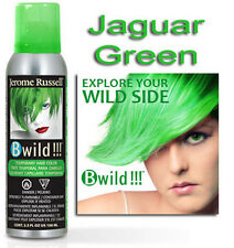 Jerome Russell B WILD TEMPORARY HAIR COLOR SPRAY  JAGUAR GREEN 3.5oz