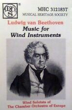 Beethoven - Music for Wind Instruments   Cassette