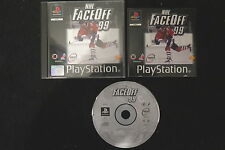 PS1 : NHL FACE OFF 99 - Completo ! Gioco ufficiale ! Compatibile PS2 e PS3
