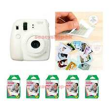 Fujifilm Fuji Instax Mini 8 Instant Polaroid Camera White + 50 Film Photo shot