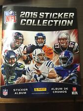 NFL 2015 Panini Stickers Lot of 10pcs You choose Stickers!-Free Shipping