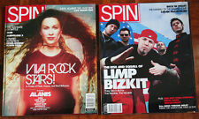 "5 Copies of ""Spin"" Magazine"