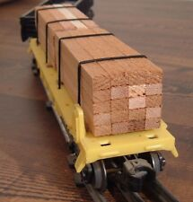 Northwest Precision Lumber Cedar Timber Load For LIONEL and other Trains O Scale