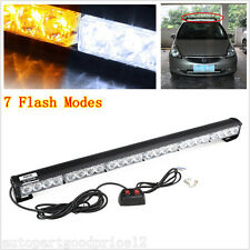 24 LED 4WD Offroad Truck Emergency Traffic Advisor Beacon Flash Strobe Light Bar