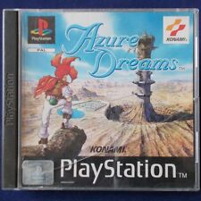 PS1 - Playstation ► Azure Dreams ◄ RAR | TOP | Komplett | dt. Verkaufsversion