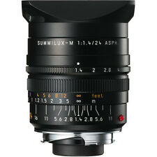 Leica SUMMILUX-M 24mm f/1.4 Aspherical Lens #11-601