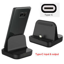 USB C 3.1 Type-C Dock Charger Charging Desktop Cradle Station For LG OnePlus