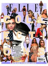UK ELLE COLLECTIONS S/S 2015 CARA DELEVINGNE Sarah Burton VICTORIA BECKHAM @New@