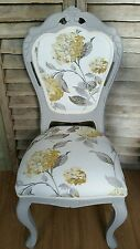 Laura Ashley 'Hydrangea ' in camomile french style boudoir chair