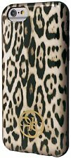 Guess Animal Collection Leopard Print TPU Case for iPhone 6 Plus 6S Plus Brown