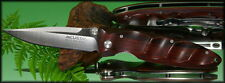 Mcusta Basic Folding Knife VG-10 Blade Rosewood Handle With Clip MC-14R **NEW**