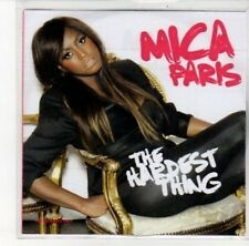 (DK173) Mica Paris, The Hardest Thing - 2009 DJ CD