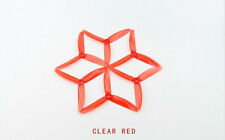 10 Pairs Kingkong 5040 5x4x3 3-Blade CW CCW Propellers For FPV Racer Drone Red
