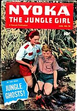 NYOKA THE JUNGLE GIRL #70 G-VG 1952 Fawcett Photo Cover from Movie