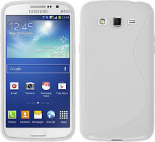 HOUSSE ETUI COQUE SILICONE GEL BLANC SAMSUNG GALAXY GRAND PLUS