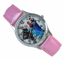 Disney Frozen Princess Wrist Quartz Fashion Child Girl Watch Xmas YBX