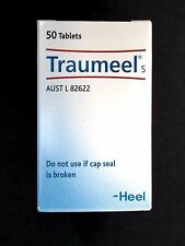 1 x 50 Tabs HEEL Traumeel S Natural Anti Inflammatory Tablets (Temporary Relief)