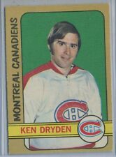 1972-73 O-Pee-Chee #145 Ken Dryden Montreal Canadians EX+