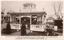 Spratt's Trade Stand Franco - British Exhibition RP pc used 1908