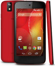 "Karbonn Android One sparkle V I 4.5"" Display I 1GB  RAM I 5 MPXL Camera I Red"