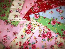 100% cotton floral  patchwork, craft ,remnant, material,  fabric
