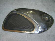 Honda CB 72 CB 77 Chromdeckel Tank rechts rhs chrome cover fuel tank